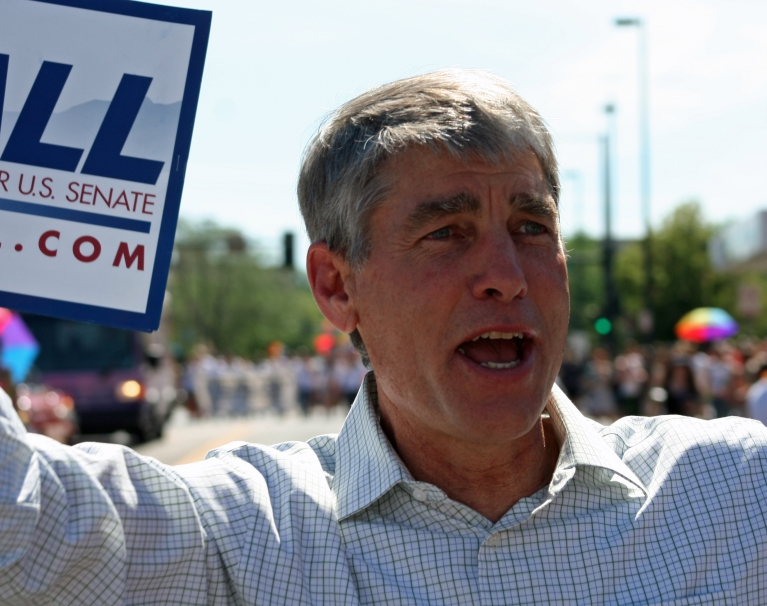 mark udall campaigning